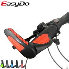 Easydo Carbon Bicycle Rubber Bikes Bar Ends Mtb Mountain Land Bike Road Grips Accessories Bicycle Parts Special Offer Hot Sale