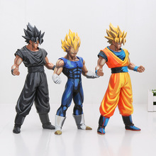 26cm Anime Dragon ball Z MSP The Vegeta Manga Ver. Super Saiyan PVC Action Figure Resin Collection Model Toy Gifts