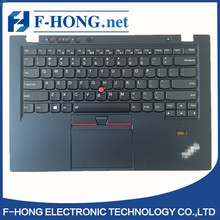 Laptop Keyboard Palmrest X1 Carbon Gen1 With Sticker label New Lenovo Thinkpad Keyboard Bezel FRU 00HT000  00HT038