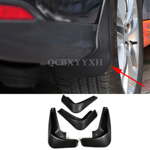 4pcs Car Styling ABS Mud Flap Splash Guard Mudguard Mudflap Fender Perfector Decoration For Ford Focus Sedan/Hatchback 2012-2015