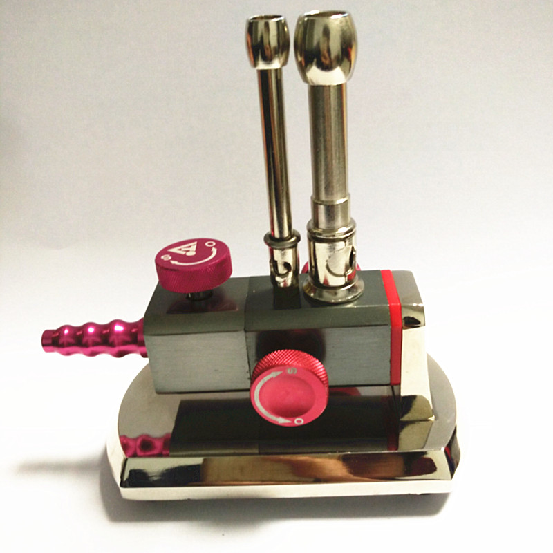 1Pc Micro Bunsen Burner Double Tube Rotatable Gas Propane Light Dental Lab Equipment<br>