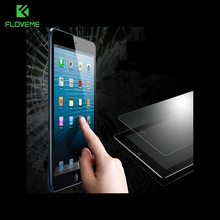 FLOVEME 9H Tempered Glass Screen Protector For Apple iPad Mini Explosion Proof Clear Transparent Protective Film For ipad mini