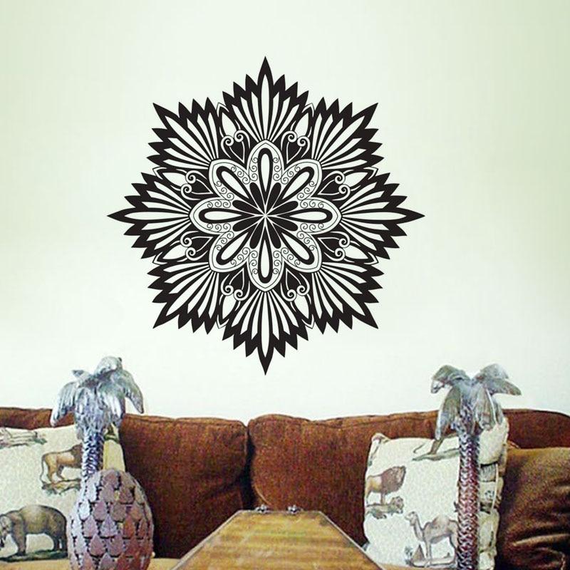 Рисуем мандалы на стене своими руками 10