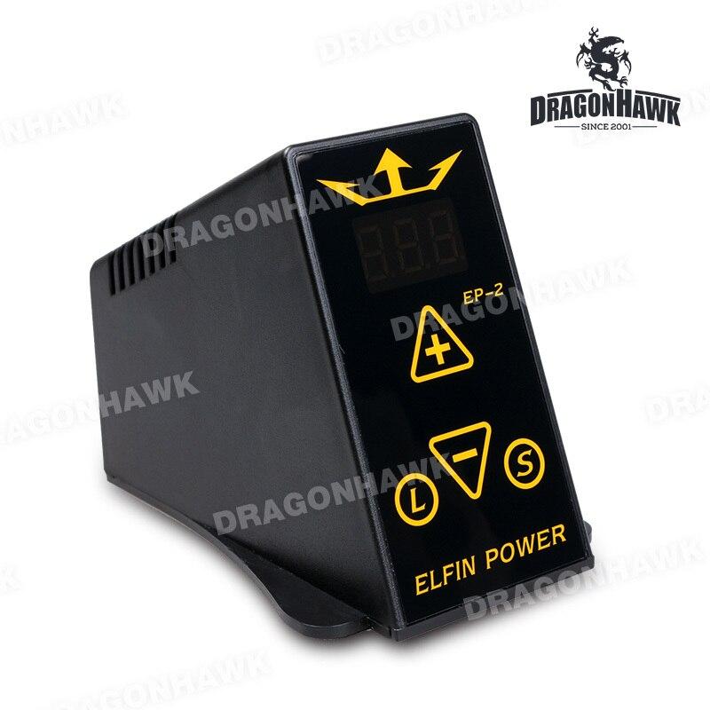 Mini Elfin Digital Tattoo Machine Power Supply Kit Top Quality<br>