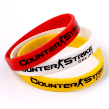 CSGO Counter-Strike Global Offensive Silicone Bracelet 12cm diameter Sports bracelet CS souvenir