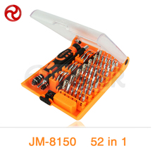 JAKEMY 52 in 1 Screwdriver Set iPhone Laptop Computer Drone Electrical Repair Magnetic Precision Screwdriver Wrenches Tool Kit