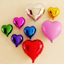 32 inch large Heart Shape Balloon Foil Candy Romantic Love Wedding Marriage Birthday Party Valentines Day Decoration Balloon(China)