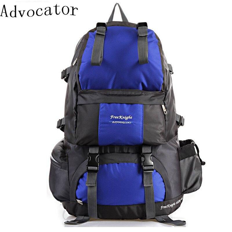 Advocator Large Capacity Travel Men Backpacking Bag Patchwork Nylon Waterproof Women Bag 40L Multifuntional Rucksack Mochile<br><br>Aliexpress