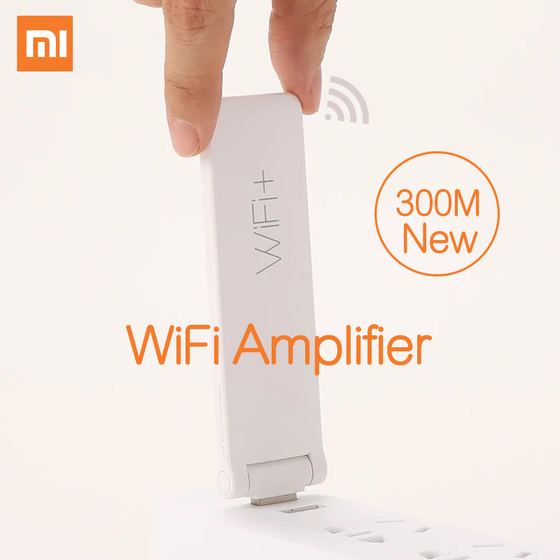 Xiaomi Mi WIFI Amplifier 2 Repeater 300Mbps WIFI Repitidor Signal Amplifier Universal Wireless WIFI Extender Antenna(China (Mainland))