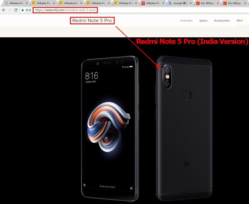 c Redmi Note 5 Pro