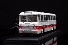 Diecast Bus Model Soviet Union Russian Ikarus-556.10 1:43 (White/Red) + SMALL GIFT!!!