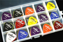 100pcs Alice Acoustic Electric Guitar Picks Plectrums+1 Large Plastic Picks Holder Case Box Free Shipping(China)