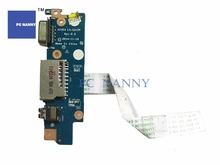 PC NANNY FOR Lenovo E31 E31-70 VGA Audio Jack Board WITH CABLE LS-C312P WORKS(China)