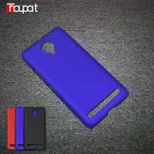 For Lenovo C2 Lenovo VIBE C2 k10a40 Case Cover Rubber Paint Hot Fashion Hard Cases for Lenovo VIBE C2 PC Frosted Good touch feel