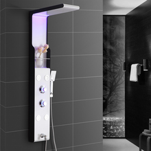 4-function Rainfall Massage Jets Handle Shower Tub Spout Shower Panel Shower Faucet Shower Set