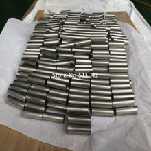 2pcs tungsten metal tube purity 99.95%  tungsten pipe  50*6*100mm paypal