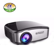 Everyone Gain Build in Speaker Manual Focus Home Theater Projector 1200Lumens LED Lamp Long life 1080p IM-TV AV HDMI VGA mini291(China)