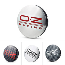 4x 56mm OZ Racing O.Z Car Wheel Center Caps Emblem For Mercedes Benz Jaguar VW Ford Renault Suzuki Bugatti Alfa Romeo Lotus(China)