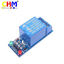 Buy Hobimake U14 1-channel relay module 5V high-level trigger switch relay expansion board indicator arduino controller #07 for $11.99 in AliExpress store