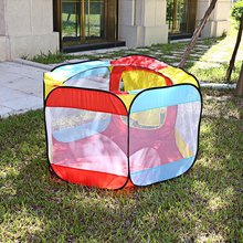Portable Kids Ocean Ball Tent Play House Indoor & Outdoor Easy Folding Ball Tent Play Hut Garden Playhouse Toy Tents Kids Gifts