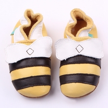 New Design Fancy Leather Soft Baby Toddler Shoes Beautiful Warm First Walking Shoes 0-15 Months(China)