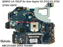 Superior Quality Motherboard For Acer Aspire V3-571G E1-571G Motherboard NBC1F11001 SJTNV HM70 DDR3 100% Fully Tested(China)