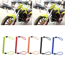 Buy Motorcycle Alarm Disc Lock Security Spring Reminder Cable 150cm Bike Scooter Bicycles Theft Protection Motorcycle Accessories for $1.34 in AliExpress store