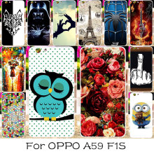 Luxury DIY Plastic Mobile Phone Case Cover For OPPO A59 F1S A59M Find 9 5.5 inch Smarphone Case Shield Back Covers Shell Housing