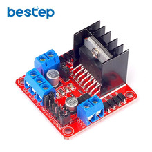 L298N Dual H Bridge DC Stepper Motor Driver Board Module Controller Arduino Smart Car Free Ship - HY Electronic trade co., LTD store