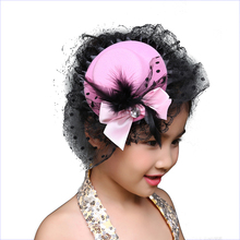 Women Headwear Hair Clips Christmas Costume Girl Gifts Fashion Ribbon Bow Flower Party Cap Hairpins Hair Accessories