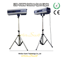 Winsune Theater Outdoor Performances Search Follow Spot Light With a 440 Watt Led Source For Wedding Party Show