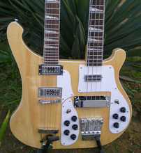Custom shop,Nature guitar,Ricken style 4 string and 12 string double neck guitar,Chinese electric guitar