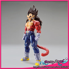 Anime Original Bandai Tamashii Nations Figure-rise Standard Dragon Ball GT Toy Figure - Super Saiyan 4 Vegeta Plastic Model