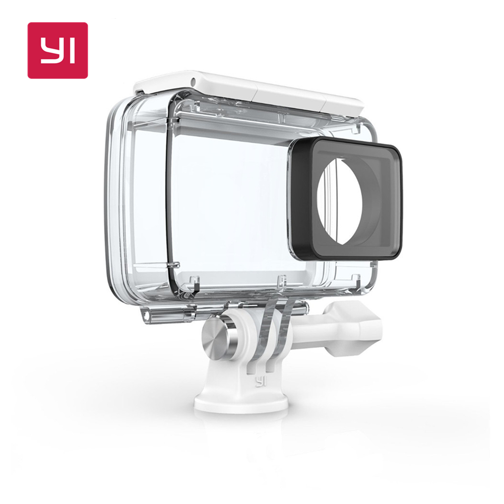 YI Waterproof Case For YI 4K Action Camera Up to 40M Underwater Swimming Diving YI Official<br>