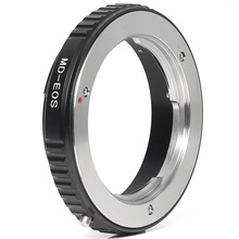 Metal Mount Lens Ring Adapter For Minolta MD MC Lens to  EOS EF Camera 1000D no glass DC163