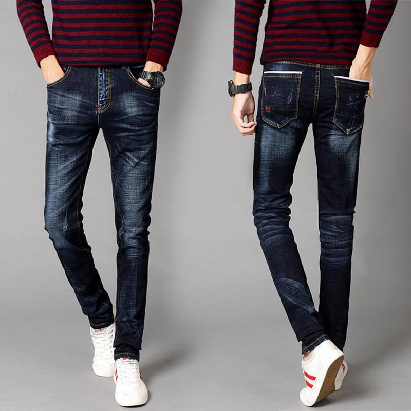Skinny jeans dark color men denim trousres size 28 to 38 slim fit biker jeans men brand design men pants ZMS998Одежда и ак�е��уары<br><br><br>Aliexpress