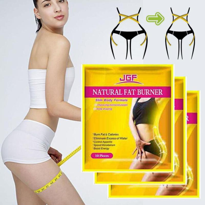 10 pieces/Bag Hot Sale Weight Lose Paste Navel Slim Patch Health Slimming Patch Slimming Diet Products Detox Adhesive U3 2
