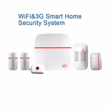 WIFI+3G Smart Home Security System(China)