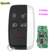 5 BUTTON SMART REMOTE KEY FOB 315mhz 434Mhz for Land Rover Range Rover Sport Evoque Vogue LR4 2010-2016 KOBJTF10A PCF7953 chip(China)