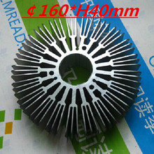 LED heatsink ,Diameter :160mm  H:40mm,aluminum heatsink , LED cooler  ,LED radiator