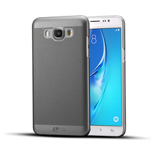 Luxury brand New grid back cover case for Samsung Galaxy J7 2016 cases and covers for j72016 original accessories korea style(China)