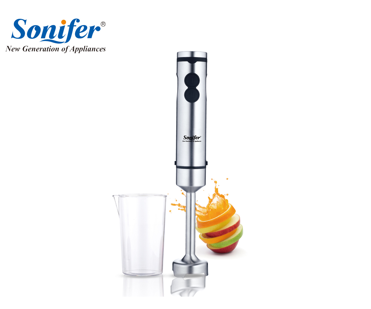 5 speed high quality electric food hand blender stainless steel mixer kitchen detachable egg beater vegetable Sonifer<br>