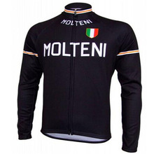 Molteni Ropa ciclismo hombre invierno winter thermal fleece long cycling jersey maillot only 2016 mtb clothing #85
