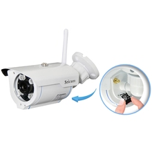 Sricam SP007 720P HD IP Camera WIFI Onvif 2.4 P2P for Smartphone Waterproof Vandalproof 15m IR Outdoor Security Home Cam EU Plug