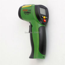 F-380 Non-Contact 12:1 LCD Display Digital IR Infrared Temperature Gun Thermometer -50~380C (-58~716F) 0.1~1.00 adjustable(China)