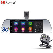 "Junsun 7"" Special 3G Car DVR Camera Mirror Android 5.0 With GPS navigation Automobile DVRs Dash Cam mirror Video Recorder(China)"