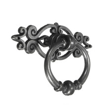 MTGATHER 10PCS Vintage Kitchen Cabinet Cupboard Dresser Door Drawer Ring Pull Handles Knobs Zinc Alloy Black Best Price