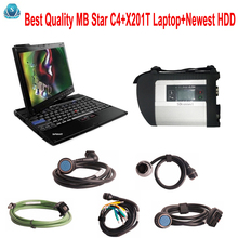 Car-detector MB Star c4 sd connect+X201T Laptop+Newest Software V2017.09 with vediamo 05.01+DTS diagnostic tool mb star c4 2017(China)