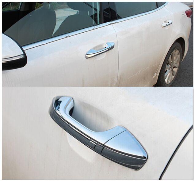 For 2011 2012 2013 2014 2015 2016 Kia Optima K5 Chrome Door Handle Covers Trims