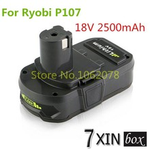 2500mAh 18V Replacement Battery For Ryobi P107 P103 P104 P105 P108 BPL1820 BPL-1815 BPL18151 RB18L25 Power Tools Cordless Dril